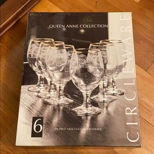 Queen Anne Collection glassware